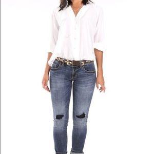 Ideal Button-up Blouse - size XL